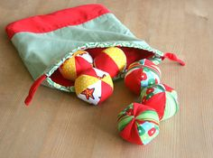 Designs by BellaBug: Juggling Balls - Little Things to Sew