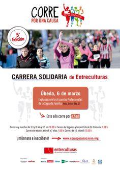 """""""Correr por la educación"""", una carrera solidaria en Úbeda el próximo 6 de marzo"""