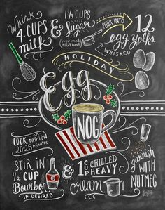 Egg Nog is more than rich cream, silky yolks and a hint of Christmas cheer; it is a tradition. Sprinkled with nutmeg, this frothy cup of white happiness transports you to the memories that remind us w