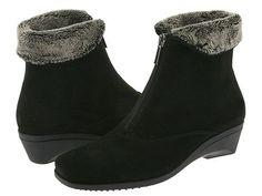 a040f5d1bbdb La Canadienne Evitta Black Suede - Zappos.com Free Shipping BOTH Ways  Layered Fashion