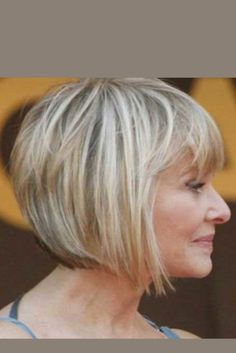 Over 60 Hairstyles, Wand Hairstyles, Layered Bob Hairstyles, Short Hairstyles For Women, Bob Haircut For Fine Hair, Haircuts For Thin Fine Hair, Haircut For Older Women, Bobs For Fine Hair, Thin Hair Cuts