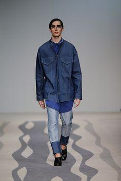 Two toned denim men's jeans. Alexandra-Moura_ss15_fy8