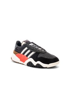 huge selection of c40a0 5169d adidas by Alexander Wang Trainers in Core Black  Core White  Borang   FWRD Adidas
