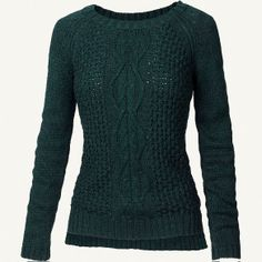 Astrid Cable Back Jumper at Fat Face