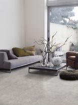 Porcelain stoneware floor tile: concrete look tile