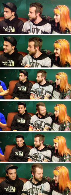 Hayley always takes over when they talk hahah I love it