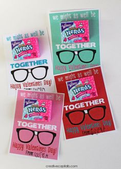 Capital B: 'Might as Well be Nerds Together' Valentines
