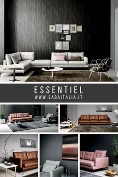 New #sofa #sabaitalia Essentiel #interior #design #ideas #sergiobicego