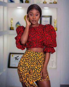Latest African Fashion Dresses, African Print Dresses, African Dresses For Women, African Print Fashion, Ankara Fashion, African Outfits, African Clothes, Africa Fashion, African Prints