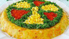 Yoğurtlu Patatesli Havuç Salatası