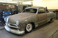 1949 Ford Shoebox presented by www.friseuragent.de..Re-pin brought to you by agents of #carinsurance at #houseofinsurance in Eugene, Oregon