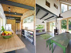 Kuchyně - stodola - rekonstrukce