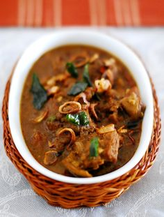 Spicy Mutton Curry - Kerala Style | Marias Menu - Very good