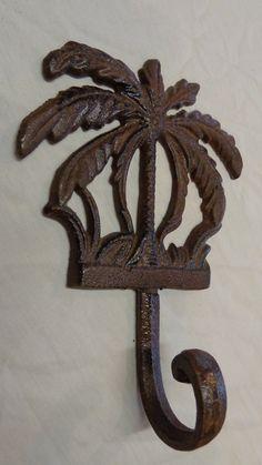 Palm tree hookbeach decortowel hangerbathroom by OverTheTopDezigns, $15.00