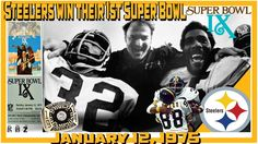 7048901f3f1 This Day  January 12 1975 Your Pittsburgh Steelers win their 1st Super Bowl  Super Bowl