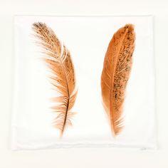 45cm *45cm Pretty Feather Cushion Cover 3d 1 Side Printing Decorative Throw Pillows Cover for Sofa Pillowcase