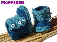 "Babybooties ""Lennard"" von MOPPSKUH auf DaWanda.com"