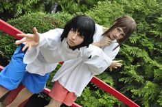 Spirited Away: Haku & Chihiro Cosplay |  Protecting Ipseity by Theelfinartist.deviantart.com on @deviantART
