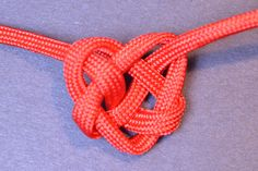How to Make a Celtic Heart Knot - BoredParacord