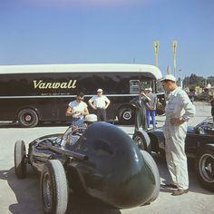 1957 Vanwall Race Transporter by Brimen, via Flickr