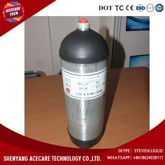 Hot sale 6 8L carbon fiber air tank 30Mpa 4500psi gas