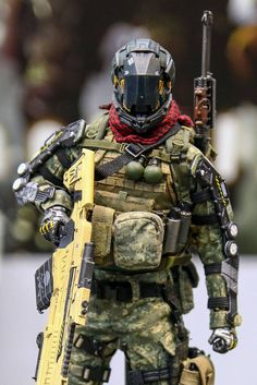 Jackal X first figure series is based on the combination of science fiction and military genre. They existed in the world of post-alien inva. Futuristic Armour, Futuristic Art, Character Concept, Character Art, Character Design, Statues, Tactical Armor, Combat Armor, Military Action Figures