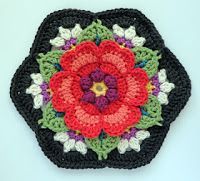 artesanato de Tina: Flor 3d de Frida