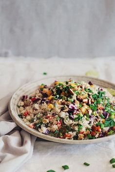 Thai-Cauliflower-Rice-with-Peanut-Butter-Sauce