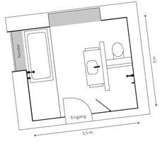 Die 26 besten Bilder von Badezimmer Planung | Diana, Bath room und ...