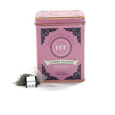 Harney & Sons Caffeinated Cherry Blossom Green Tea Tin - 20 Sachets for sale online Alison Wonderland, Chinese Flowers, Love Oil, Tea Tins, My Tea, Lunch Box, Make It Yourself, Green, Gifts