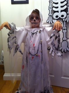 Ghost costume for kids                                                       …