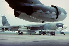 61-0003 B-52H 28th Bomb Wing, Ellsworth AFB, RAF Marham 5-6-79 | par Stuart Freer - Touchdown Aviation
