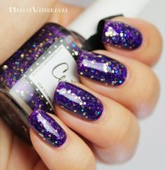 ESMALTES DA KELLY | CENTAURO (OVER AMERICAN APPAREL | IMPERIAL PURPLE)