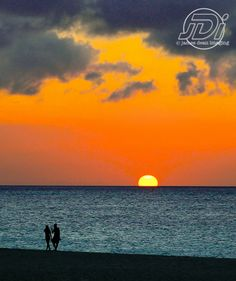 Sunset in the Caribbean - 2013