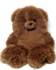 This adorable teddy bear is handmade in Peru by skilled artists, made of Superfine Alpaca. The Alpaca Fur Teddy Bear is stuffed with hypoallergenic material. Teddy Bear Toys, Cute Teddy Bears, Cute Stuffed Animals, Cute Animals, Alpaca Toy, Cute Plush, Plush Animals, Kids Toys, Creations