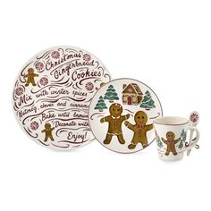 Gingerbread Dinnerware Collection #williamssonoma  sc 1 st  Pinterest & Williams-Sonoma Gingerbread Dishes | Gingerbread Land | Pinterest ...