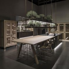 Arclinea introduced their latest kitchens this year at the Milan design fair. We…