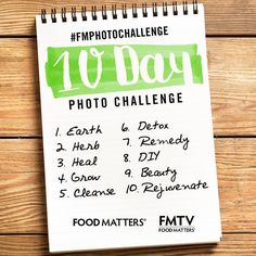 Join Food Matters & FMTV for the ultimate October #FMPhotochallenge!  The guidelines:  1. Challenge Starts today, October 1st!  2. Follow the list of themes to be posted each day! 3. Catch FM & FMTV's posts for ideas daily. 4. Tag your photo's with the #FMphotochallenge hashtag. 5. BE CREATIVE!   We can't wait to see your photos!   #FMTV #Foodmatters #FMphotochallenge