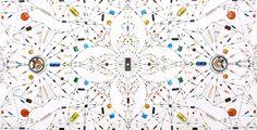 Technological mandala 48 - Eye of Pula // Leonardo Ulian