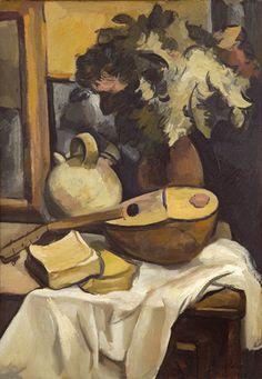 Héctor Basaldúa. Naturaleza muerta (1926), óleo sobre tela.