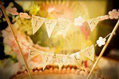 cute cake banner