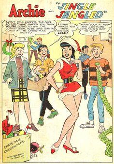 Archie Jingle Jangled, Archie Comic Publications, Inc.  https://www.pinterest.com/citygirlpideas/archie/