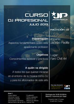 Flyer Curso Dj Profesional Julio 2013