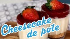 Lanche/Doce - Cheesecake de pote