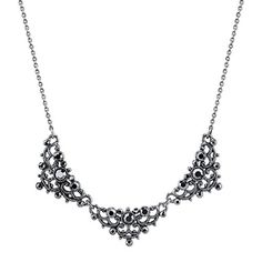 Best price on Downton Abbey® Boxed Antiqued Silver-Tone Crystal Collar Necklace //   See details here: http://shoesproducts.com/product/downton-abbey-boxed-antiqued-silver-tone-crystal-collar-necklace/ //  Truly a bargain for the inexpensive Downton Abbey® Boxed Antiqued Silver-Tone Crystal Collar Necklace //  Check out at this low cost item, read buyers' comments on Downton Abbey® Boxed Antiqued Silver-Tone Crystal Collar Necklace, and buy it online not thinking twice!   Check the price…