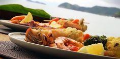 chapa de frutos do mar 00 superchefs Churrasco de Tainha e Chapa de frutos do Mar receita do chef Eudes Assis