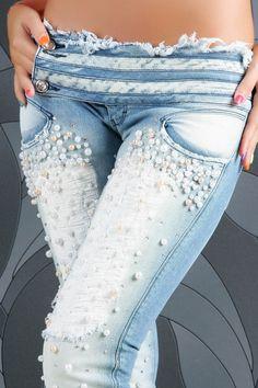 Decor jeans (selection) / Remake jeans /