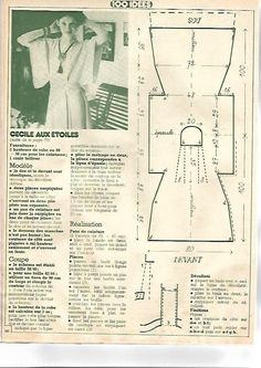 "Sewing Vintage DIY vintage, couture, tricot, patron and craft: Couture Facile "" Des robes vite cousues"""