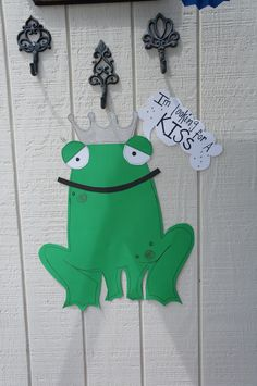 Frog Princess Birthday Party - fun game to play kiss the frog