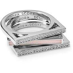Kendra Scott Lucia Ring (295 PEN) ❤ liked on Polyvore featuring jewelry, rings, accessories, kendra scott, kendra scott ring and kendra scott jewelry